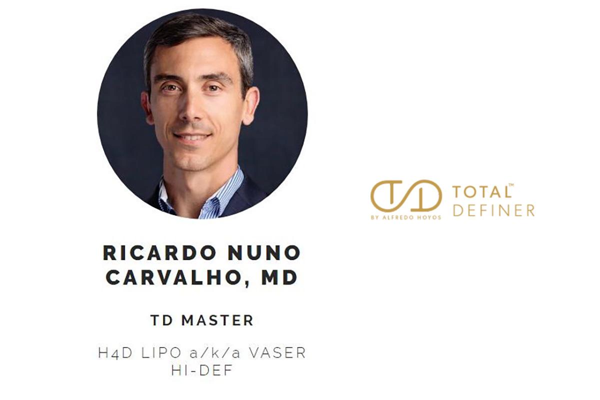 Lipoaspiração de alta definição Ricardo Carvalho Total Definer Master