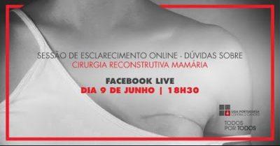 Sessão de esclarecimento - Reconstrução mamária